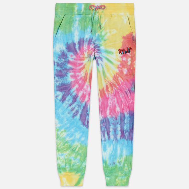 Мужские брюки RIPNDIP Nerm & Jerm Show Sweat Rainbow Spiral Dye