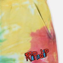 Мужские брюки RIPNDIP Nerm & Jerm Show Sweat Rainbow Spiral Dye фото- 2