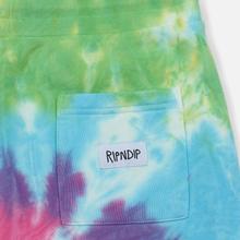 Мужские брюки RIPNDIP Nerm & Jerm Show Sweat Rainbow Spiral Dye фото- 4
