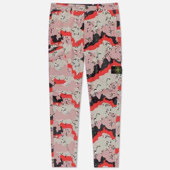 Мужские брюки Stone Island 3C+PU Desert Camo Plaster