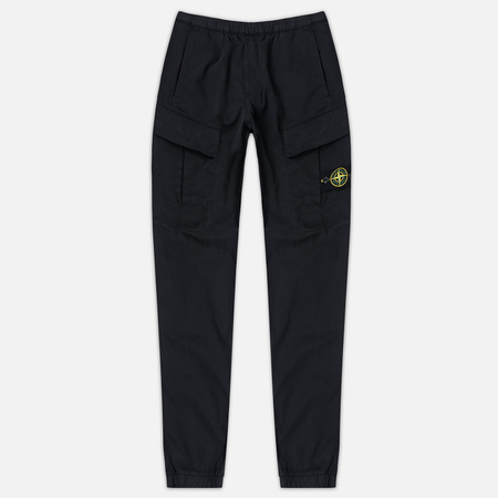 Мужские брюки Stone Island Cargo Black