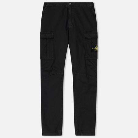 Мужские брюки Stone Island Cargo Cotton Twill Black