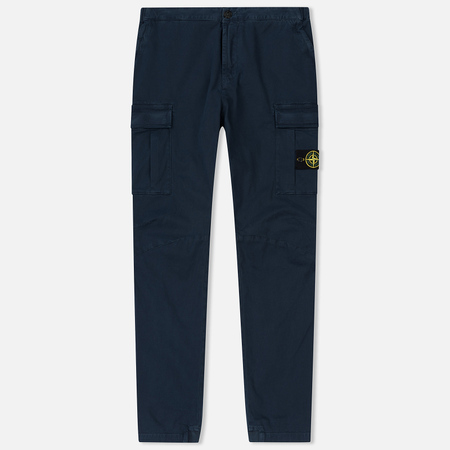 Мужские брюки Stone Island Cargo Cotton Twill Blue