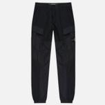Мужские брюки Stone Island Cargo Garment Dyed Black фото- 0