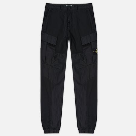Мужские брюки Stone Island Cargo Garment Dyed Black