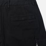 Мужские брюки Stone Island Cargo Garment Dyed Black фото- 3