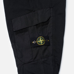Мужские брюки Stone Island Cargo Garment Dyed Black фото- 4