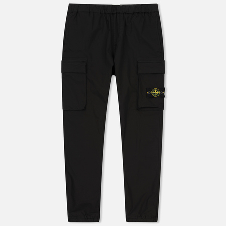 Мужские брюки Stone Island Cargo Jogging Black