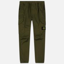 Мужские брюки Stone Island Cargo Slim Fit Olive Green фото- 0