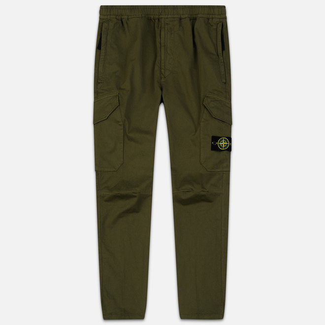 Мужские брюки Stone Island Cargo Slim Fit Olive Green