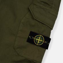 Мужские брюки Stone Island Cargo Slim Fit Olive Green фото- 3
