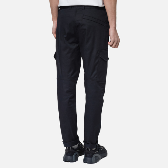 Мужские брюки Stone Island Cargo Stretch Broken Twill Black