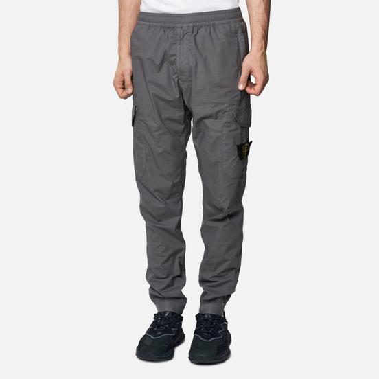 Мужские брюки Stone Island Cargo Tapered Fit Blue Grey