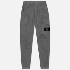 Мужские брюки Stone Island Cargo Tapered Fit Blue Grey