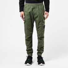 Мужские брюки Stone Island Cargo Tapered Fit Olive Green фото- 4