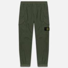 Мужские брюки Stone Island Cargo Tapered Fit Olive Green фото- 0