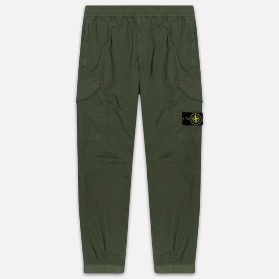 Мужские брюки Stone Island Cargo Tapered Fit Olive Green