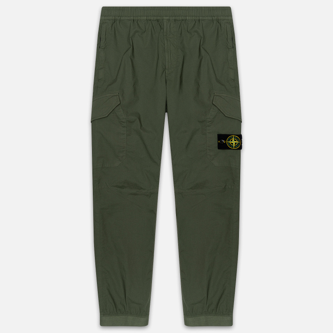 Мужские брюки Stone Island Cargo Tapered Fit Olive Green