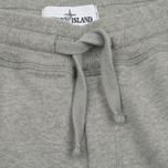 Мужские брюки Stone Island Cotton Fleece Garment Dyed Grey фото- 1