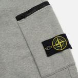 Мужские брюки Stone Island Cotton Fleece Garment Dyed Grey фото- 4