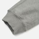 Мужские брюки Stone Island Cotton Fleece Garment Dyed Grey фото- 5