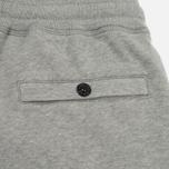 Мужские брюки Stone Island Cotton Fleece Garment Dyed Grey фото- 3