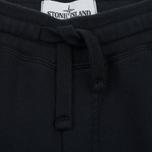 Мужские брюки Stone Island Cotton Fleece Garment Dyed Navy фото- 1