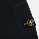 Мужские брюки Stone Island Cotton Fleece Garment Dyed Navy фото- 4