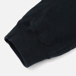 Мужские брюки Stone Island Cotton Fleece Garment Dyed Navy фото- 5