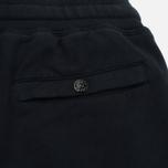 Мужские брюки Stone Island Cotton Fleece Garment Dyed Navy фото- 3