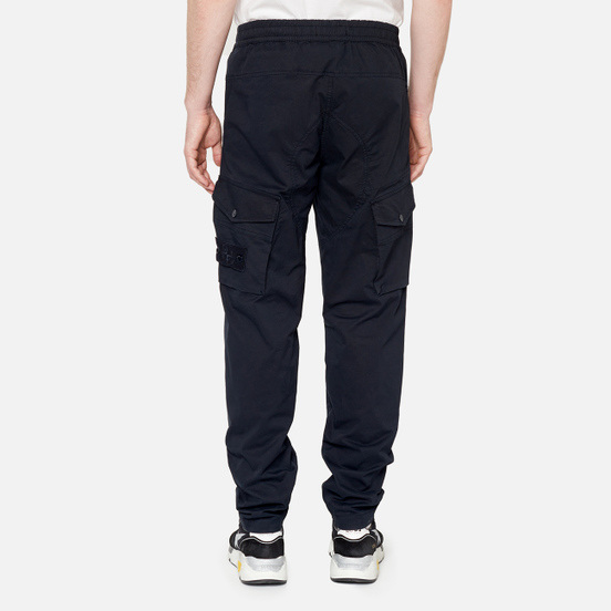 Мужские брюки Stone Island Ghost Piece Cargo Navy Blue