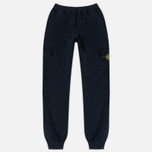 Мужские брюки Stone Island Jogging Brushed Cotton Fleece Dark Navy фото- 0