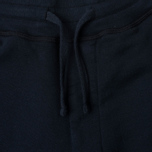 Мужские брюки Stone Island Jogging Brushed Cotton Fleece Dark Navy фото- 2