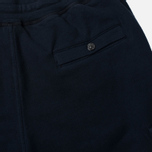 Мужские брюки Stone Island Jogging Brushed Cotton Fleece Dark Navy фото- 4