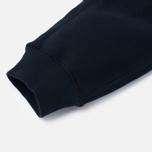 Мужские брюки Stone Island Jogging Brushed Cotton Fleece Dark Navy фото- 5