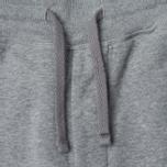 Мужские брюки Stone Island Jogging Brushed Cotton Fleece Light Grey фото- 2