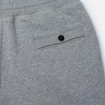 Мужские брюки Stone Island Jogging Brushed Cotton Fleece Light Grey фото- 4