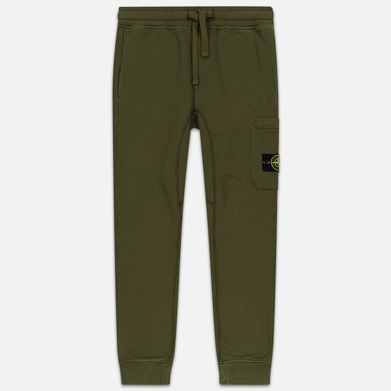 Мужские брюки Stone Island Jogging Large Zip Pocket Olive Green