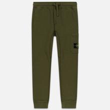 Мужские брюки Stone Island Jogging Large Zip Pocket Olive Green фото- 0