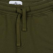 Мужские брюки Stone Island Jogging Large Zip Pocket Olive Green фото- 1
