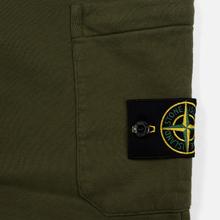 Мужские брюки Stone Island Jogging Large Zip Pocket Olive Green фото- 3
