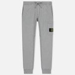 Мужские брюки Stone Island Loop-Back Cotton Fleece Dust Grey фото- 0