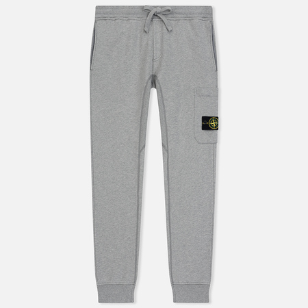 Мужские брюки Stone Island Loop-Back Cotton Fleece Dust Grey