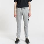 Мужские брюки Stone Island Loop-Back Cotton Fleece Dust Grey фото- 1