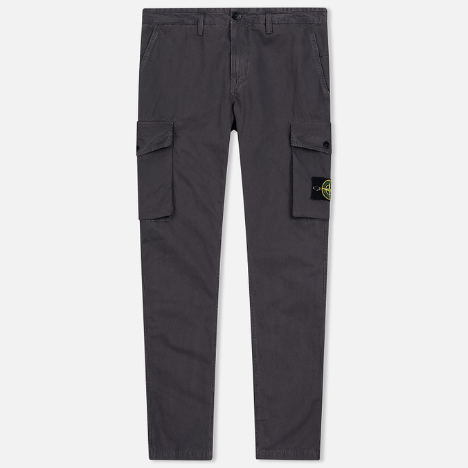 Мужские брюки Stone Island Old Effect GD Cargo Blue Grey