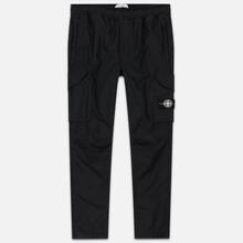 Мужские брюки Stone Island Reflective Weave Ripstop-TC Black фото- 0
