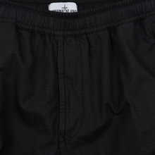 Мужские брюки Stone Island Reflective Weave Ripstop-TC Black фото- 1