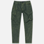 Stone Island Shadow Project Cargo Comfort Cotton Men`s Trousers Gabardine Green photo- 0