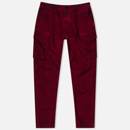 Мужские брюки Stone Island Shadow Project Cargo Comfort Cotton Gabardine Maroon