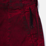 Stone Island Shadow Project Cargo Comfort Cotton Gabardine Maroon photo- 3